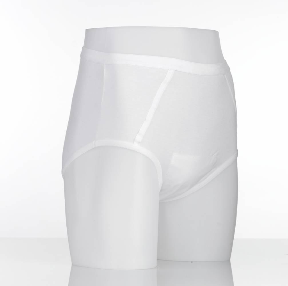 Wasbare incontinentiebroekjes met inlegstuk heren - X-large 112-117 cm