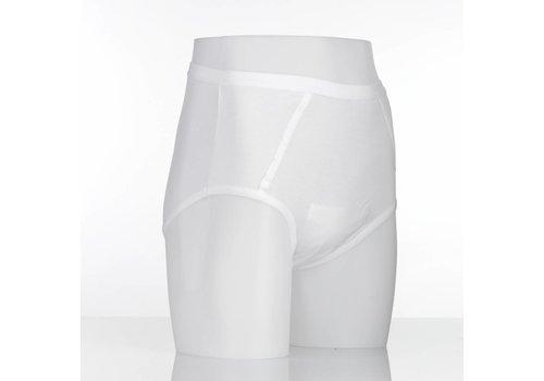 Wasbare incontinentiebroekjes met inlegstuk heren - XX-large 122-132 cm