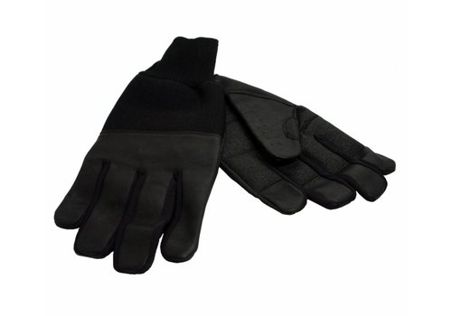 Lederen winter handschoenen - M