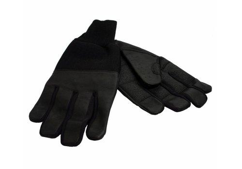 Lederen winter handschoenen - S
