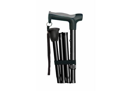 Opvouwbare wandelstokken - zwart