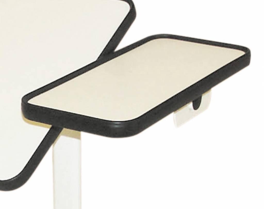 Bedleestafel - plateau, wit