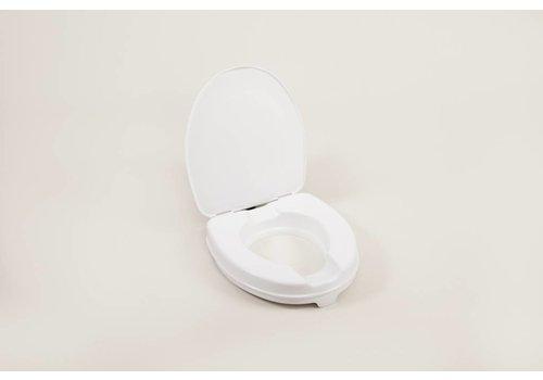 Toiletverhoger - 5 cm met deksel