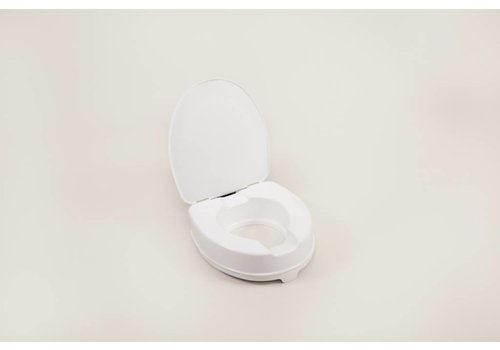 Toiletverhoger - 10 cm met deksel