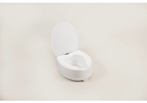 Toiletverhoger - 15 cm met deksel