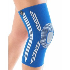 Airflow Plus stabiliserende knie support met siliconen patella kussen - X-large