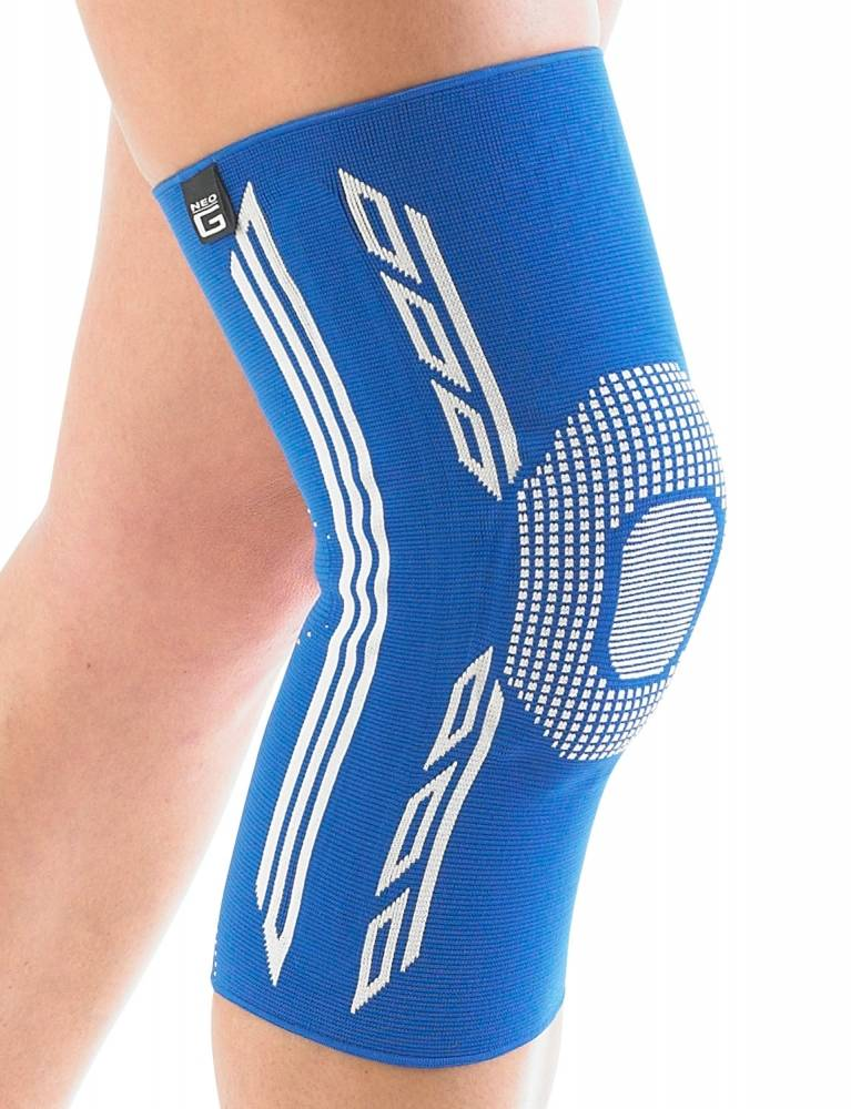 Airflow Plus stabiliserende knie support met siliconen patella kussen - X-large
