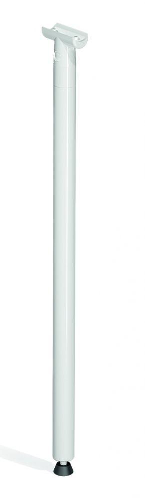 Vloersteun tbv opklapbare muursteun - 567 mm