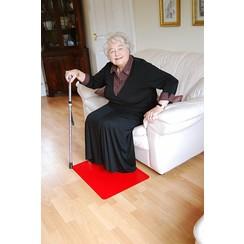 Anti-slip vloermat - rood