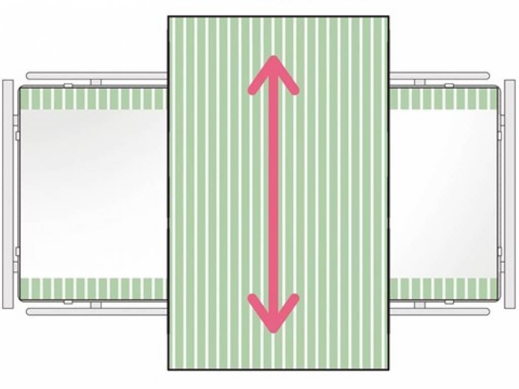 SatinSheet 2D Treklaken - Midi 2D