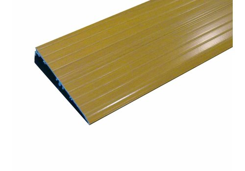 Indoor Drempelhulp - decorprint hout 96 x 14 cm
