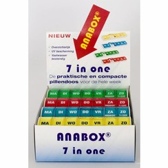 Weekbox - display 12 stuks