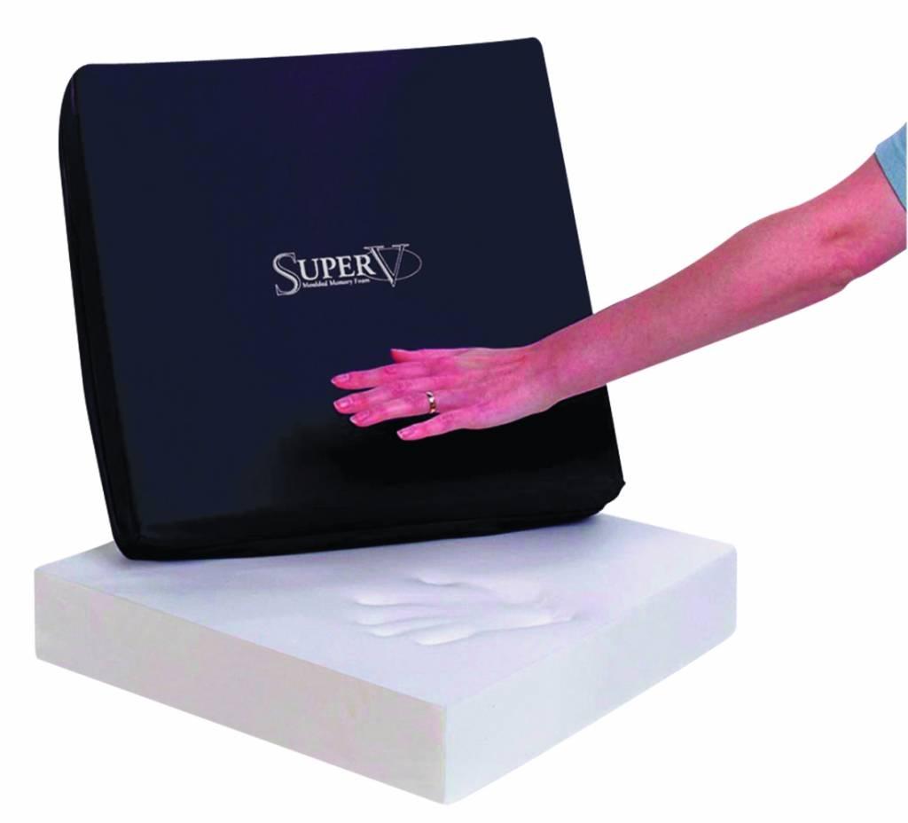 Designer Super V zitkussen - 43 x 43 x 6 cm