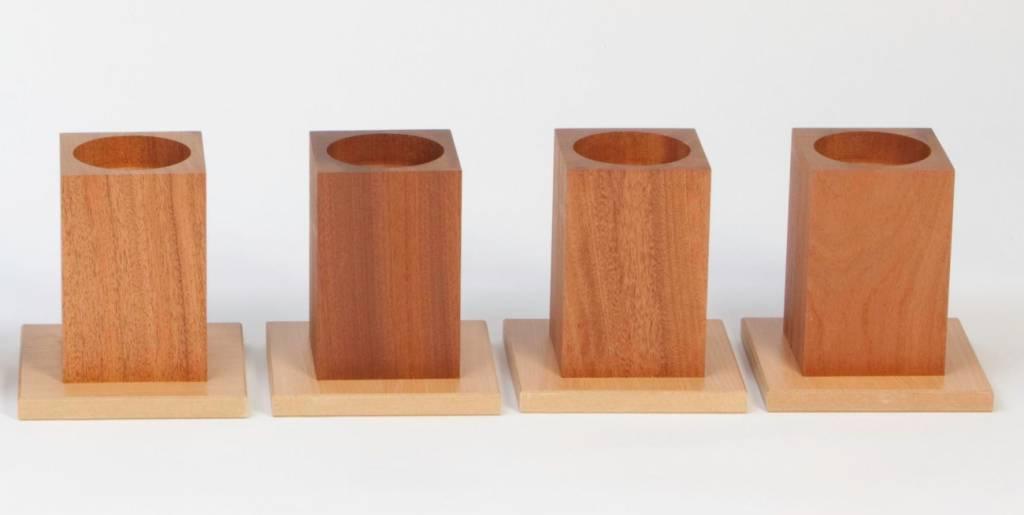 Houten verhogers - 15,5 cm