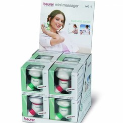 Gemengde mini massage set MG16 - 4 x rood + 4 x groen