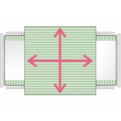 SatinSheet 4D Treklaken - Midi 4D
