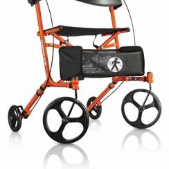 Hugo Sidekick rollator - oranje
