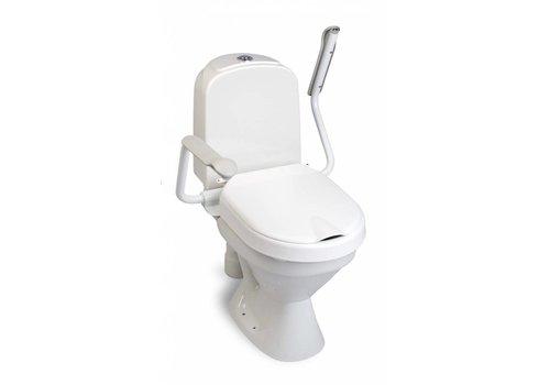 Hi Loo toiletverhoger vast met armleuning - hoogte 6 cm