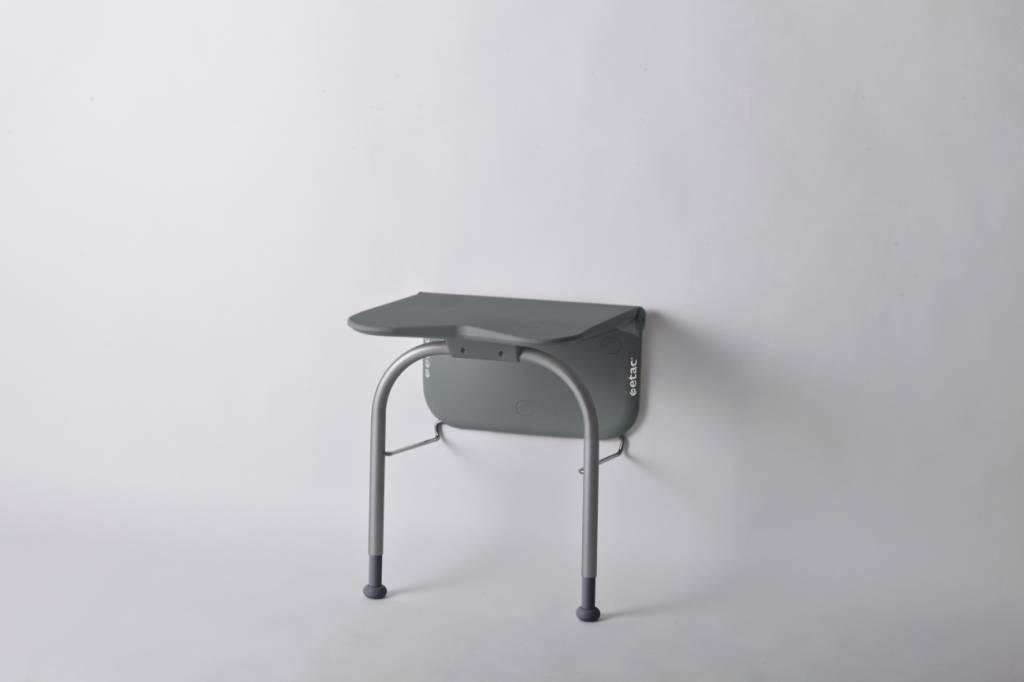 Relax douchezitting - met steunpoten, volcan grey
