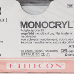 Y494H Monocryl 4-0  P-3 Prime 13mm pak/36st