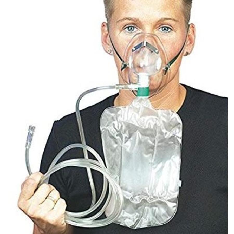 O2 non-breathing zuurstof masker steriel verpakt ps