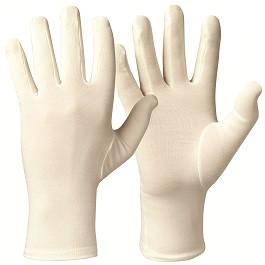 Bamboe anti-krab handschoenen bij eczeem per paar