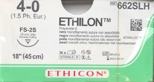 Ethilon 4-0 662SLH hechtdraad pak/36st