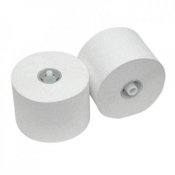2 laags doprol toiletpapier 36 rollen per doos wit cellulose