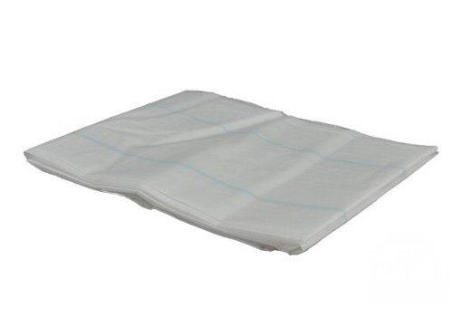 Onderlaken wegwerp 75 x 210 cm 8 laags - 25 stuks