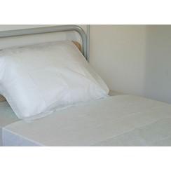 Disposable lakens 35gr/m2 non woven 240x150cm p.50st
