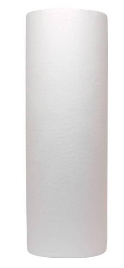 6x onderzoektafelpapier 50cm 100 mtr 2 laags wit cellulose 6 rol