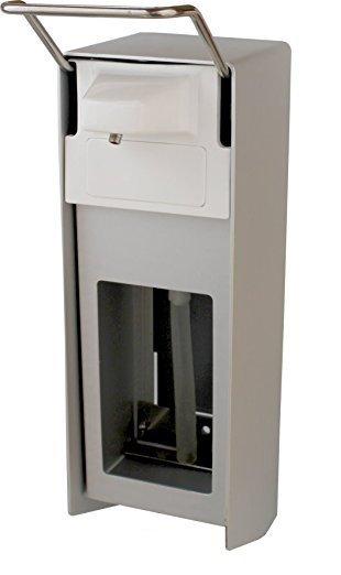 Zeepdispenser aluminium 1000 ml met afsluitplaat