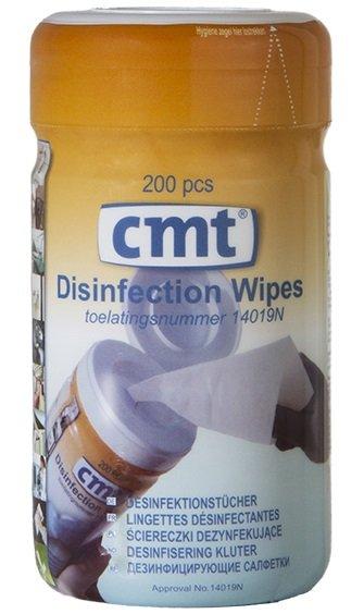 Desinfectiedoekjes - ontsmettende wipes - per 200 doekjes 43650534