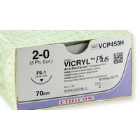 Vicryl Plus VCP453H 2-0 FS1 hechtdraad pak/36st