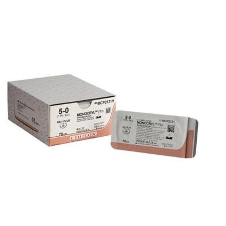 Monocryl Plus 5-0 MCP2131H VIOLET MONOFIL RB1plus 36st