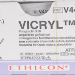 Vicryl V443H 2-0 FS-1 70cm kleurloos sngle armed p. pakje a 36st