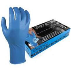 Grippaz 306BL blauw nitril extra lang 50x