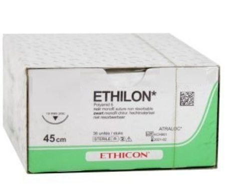 663H ETHILON ZWART MONOFIL