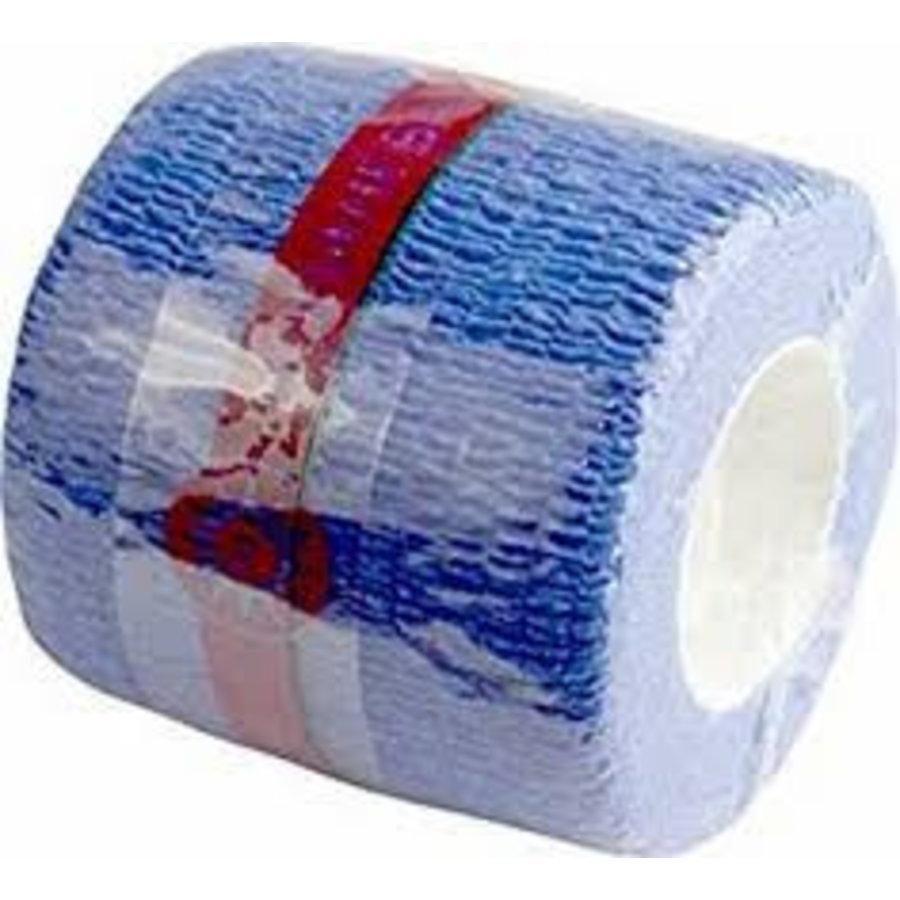 10x NOBAHEBAN zwachtel cohesief 4,5 m x 5.0 cm rood groen bruin wit blauw