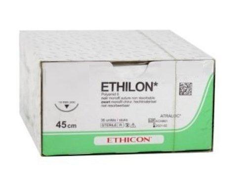 697H ETHILON ZWART MONOFIL