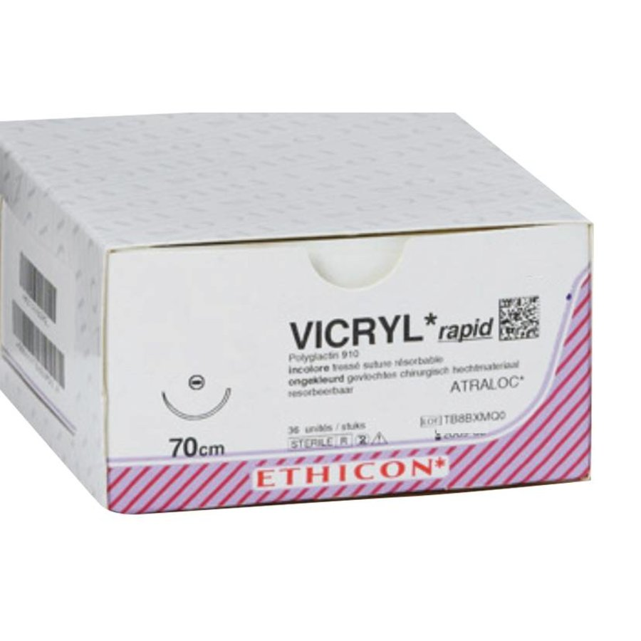 V62H VICRYL RAPID ONGEKL GEVL 2-0  met SH1 PLUS naald  met hechtdraad(mtr) 0,70 36st/pak