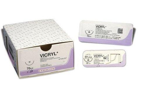 V293H VICRYL 3-0 FS-2 45CM ONGEKLEURD GEVLOCHTEN
