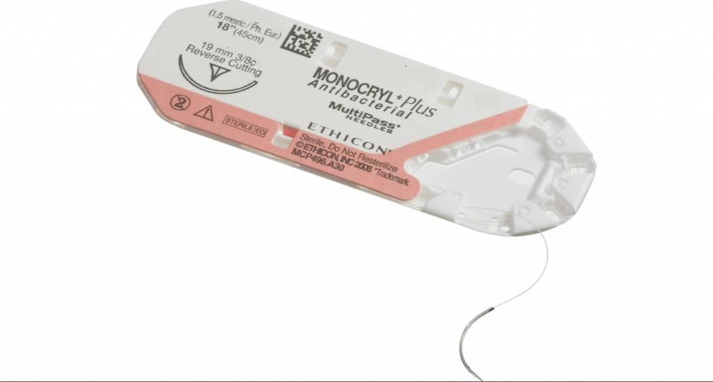 MCP293H MONOCRYL PLUS ONGEKL MONOFIL