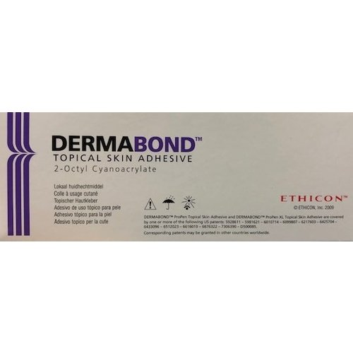 Ethicon APP6 Dermabond Propen APP6 6x0,5 wondhechtmiddel
