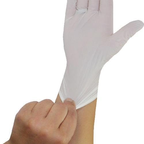 Clinic Perfect Semi Long witte nitril handschoenen Clinic Perfect 150