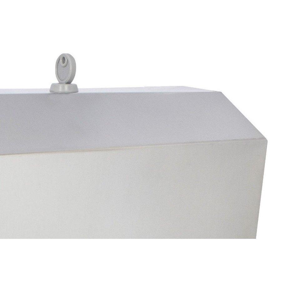 RVS dispenser voor 400 Zvouw papieren handdoekjes