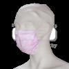 Care&Serve Roze mondmaskers TypeII 3 laags oorbandje