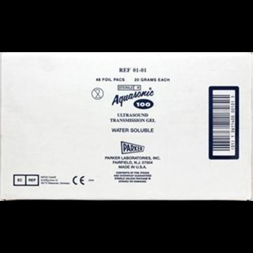 Parker Aquasonic 100 ultrasound gel