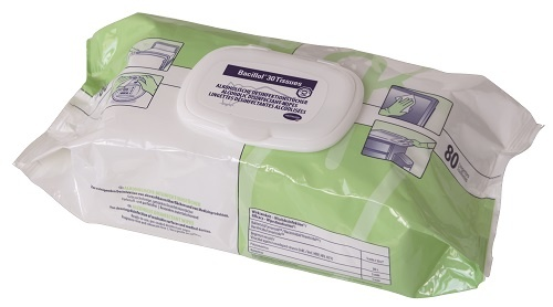 Bacillol 30 tissues voor ontsmetting en reiniging