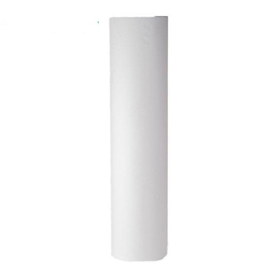 6x onderzoektafel papierrol 40cm 100 mtr 2 laags wit cellulose